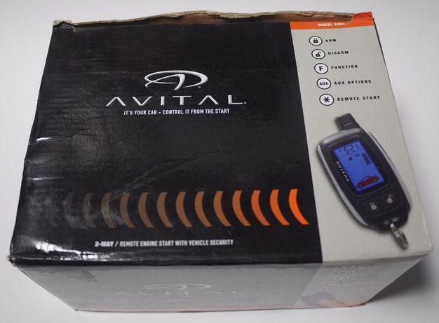 Автосигнализация с автозапуском и обратной связью Avital 5303L