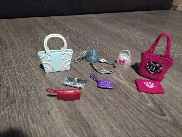 Zestaw torebek dla Barbie