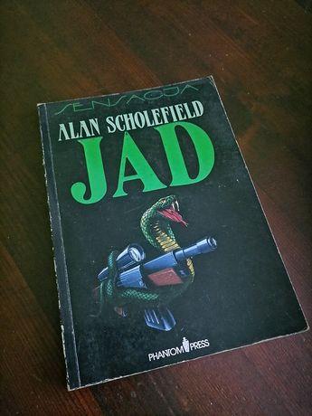 Alan Scholefield,, Jad,,