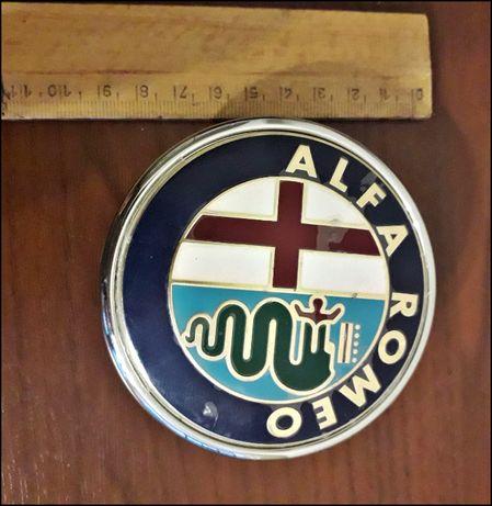 Znaczek emblemat ALFA ROMEO - oryginalny, nowy z folią