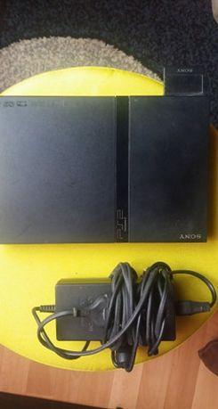 PlayStation 2 SLIM + Zestaw Gier(22 gry)!