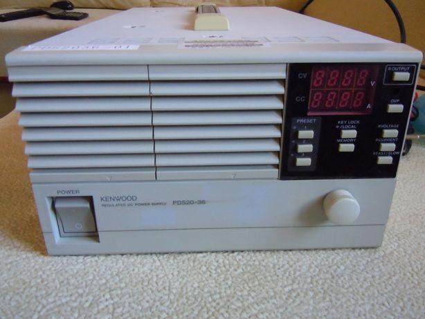 Лабораторный блок питания зарядное Kenwood PDS20-36 (Япония)