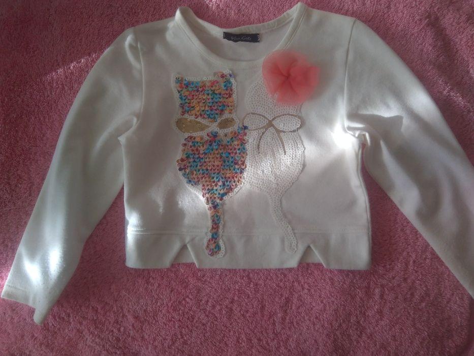 Белая нарядная кофточка для девочки Киев - изображение 1