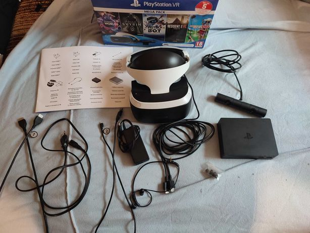 Okulary VR PS4 + Kamera