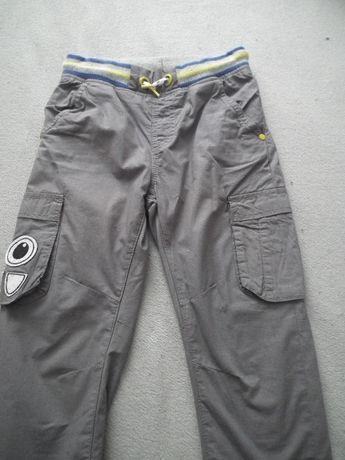 Spodnie ocieplane, szare, rozm.116, kupione w Smyku (2 pary).