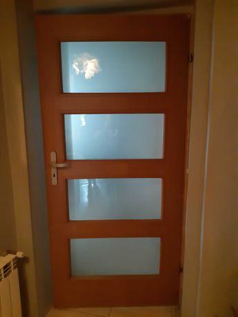 Skrzydło drzwi  90 cm, Olcha