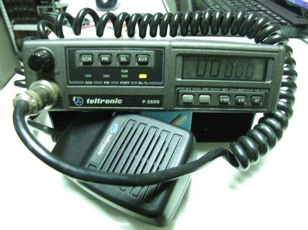 Rádio de Taxi VHF Teltronic P-2500