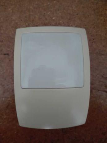 Sensores e sirene exterior p/alarme residencial