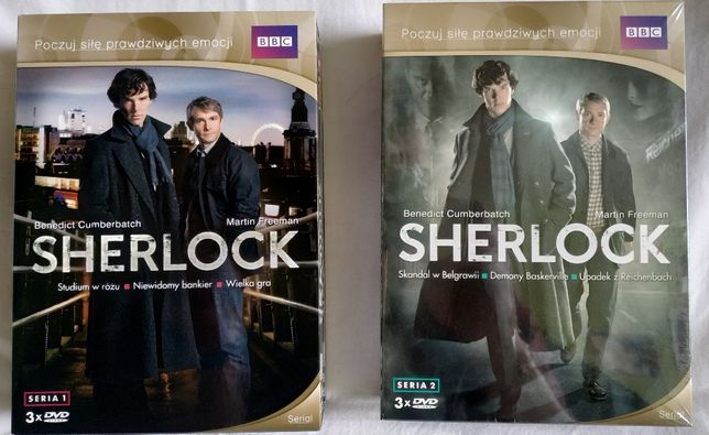 Sherlock Serial BBC Sezon 1 i 2
