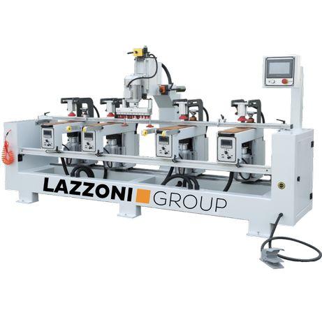 Wiertarka do frontów i drzwi szaf - EXPERT MH - Lazzoni Group
