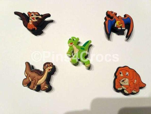Pins com dinossauros para crocs ou pulseiras