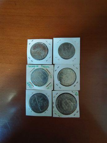 Moedas 100 e 250 escudos