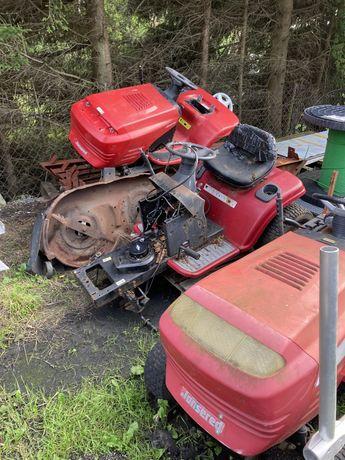 Traktorki do trawy jonsered