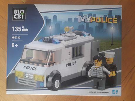 klocki blocki my police kb6730 nowy zestaw