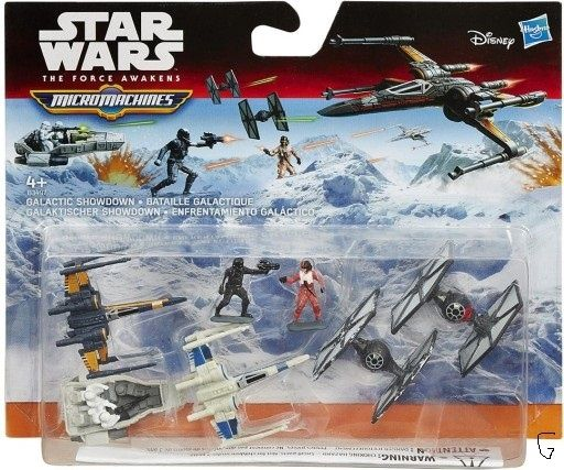 STAR WARS micromachines figurki TANIO!