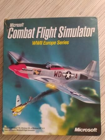 Jogo PC Combat Flight Simulator