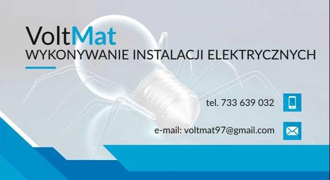 Elektryk, Instalacje Elektryczne WOLNE TERMINY!!!