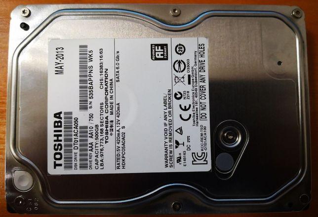HDD 500 GB для ПК