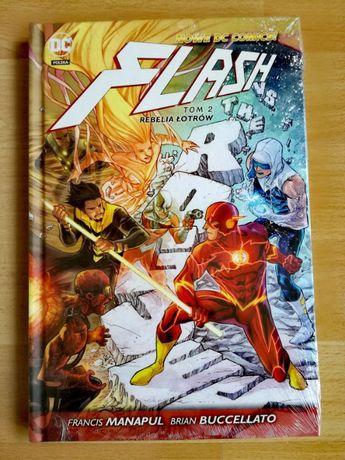 Nowe DC Comics! - FLASH - Tom 2 - Rebelia łotrów