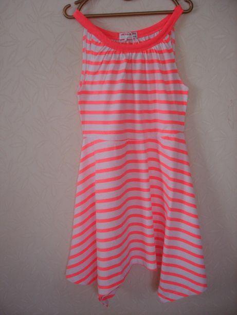 Замечательное летнее платье для девочки (Польша) разм.146