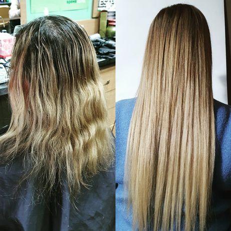 Акция!Наращивание волос 600 грн