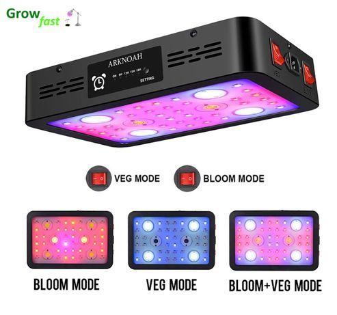 Светодиодная фитолампа GrowSun - 1200Вт с таймером (Гарантия 12 месяце