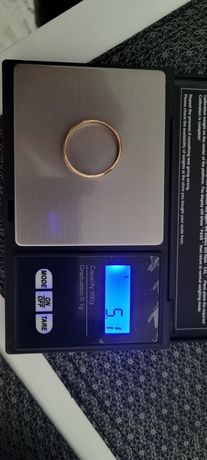 Złota obrączka złoto złom 5.1g 583
