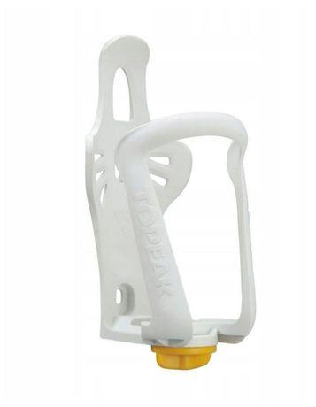 NOWY Koszyk na bidon Topeak MODULA CAGE EX biały regulowany