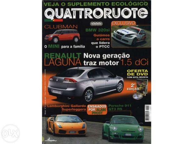 2 Revistas automóveis - Turbo e Quattrouote