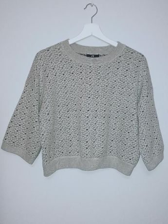 Nowy sweter H&M szary 34