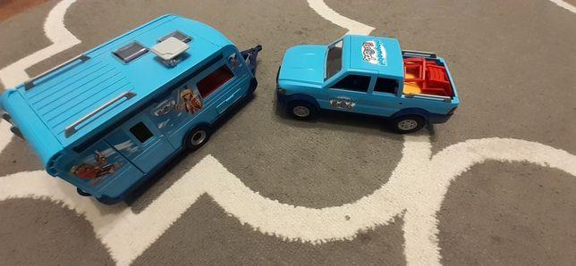 Pickup z capmerem playmobil