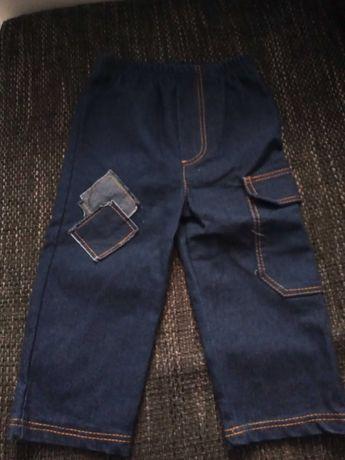 Spodnie chłopięce 80