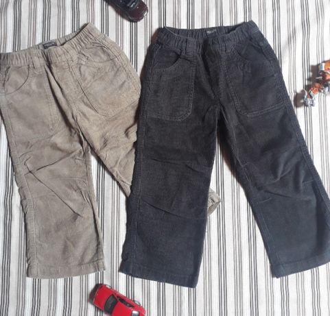 Вельветовые брюки мальчику 86 рост