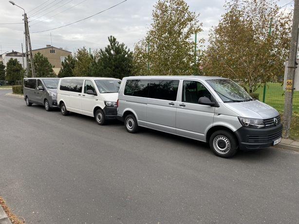 Wynajem Wypozyczalnia Samochodów 5 7 9 osobowe dostawcze autolawety
