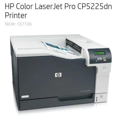 HP LJ Pro CP 5225dn. А3 Лазерный цветной двусторонний сетевой принтер