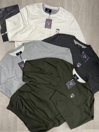 Sale!!!чоловічий свитшот Gant(Гант),в 4 кольорах,новий)