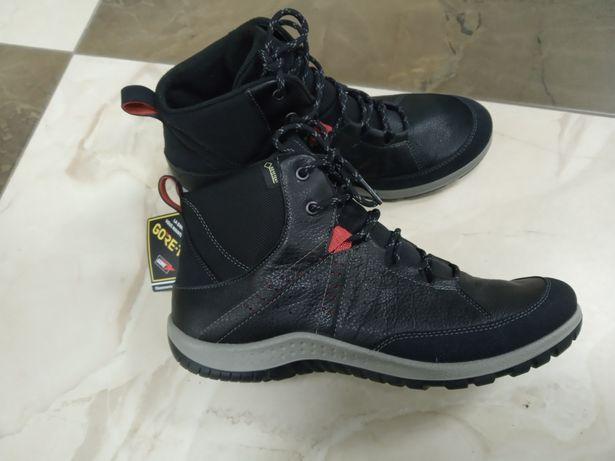 Ботинки черевики Ecco, Gore-Tex, р.41