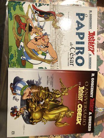 Livros: Astérix & Obélix de Albert Udezo e René Goscinny