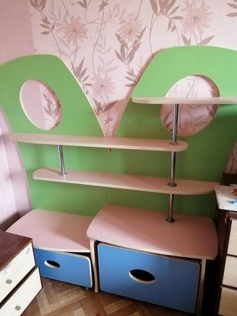Детская этажерка, мебель для детской, торг