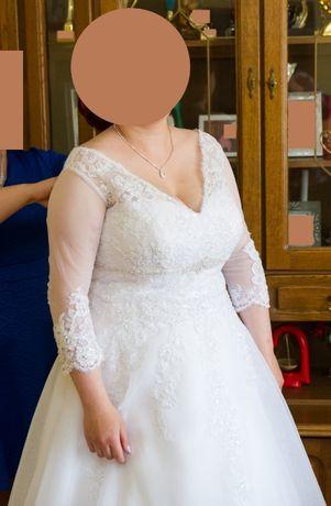 Piękna suknia dla Panny Młodej.< 3