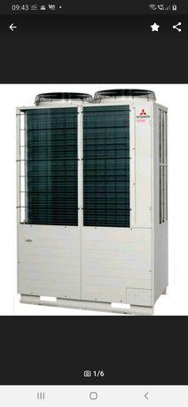 Pompa ciepła powietrze-woda Mitsubishi Electric 57 kW