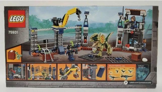 LEGO DINOZAURY 75931 Jurassic World Atak Dinozaura!!!