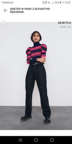 Nowy sweter golf Zara