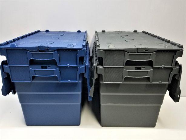 Pojemnik magazynowy transportowy kurierski zamykany-60x40x41cm.-NOWY