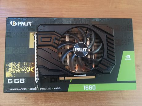 Palit GeForce GTX 1660 StormX 6GB GDDR5