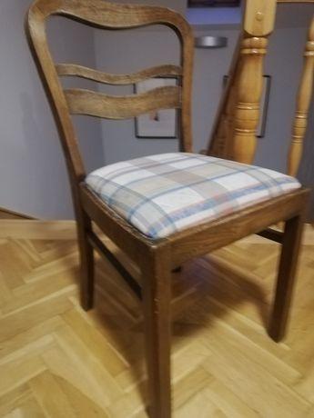 Krzesła drewniane vintage