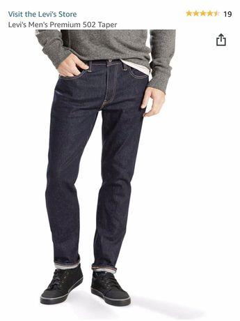 Чоловічі джинси Levis Premium 502 Taper / мужские джинсы