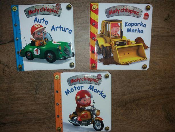 Książeczki z autami