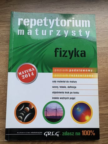 Repetytorium maturzysty Fizyka 2014 GREG