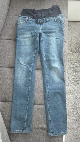 Spodnie jeans ciążowe XXL